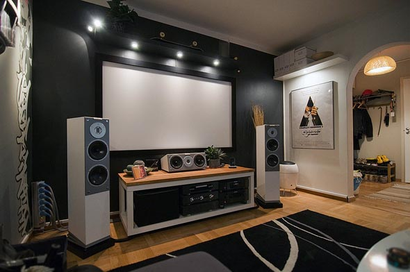 Home Theater Interior Design by Johan
