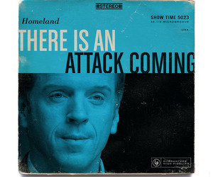 HOMELAND as 12 Vintage Album Covers