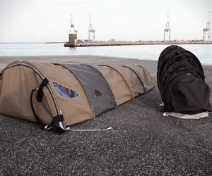 Homeless Hybrid Backpack Shelter