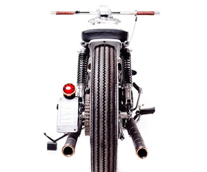 Honda CB350 Custom - The Brat