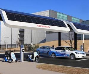 Honda Gas Station V2.0 – A Solar EV Charging Station