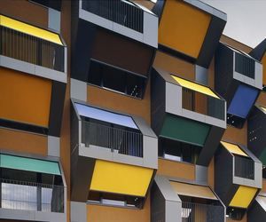 Honeycomb Apartments by OFIS Architecture