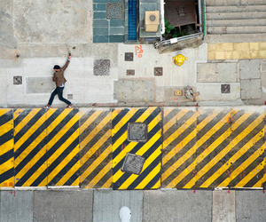 Hong Kong Streets Morphed into Backdrop for 2D Video Game