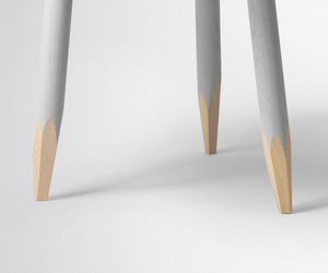 Hoof Wooden Tables by Samuel Wilkinson