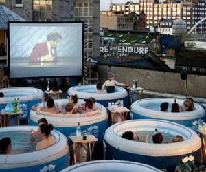 Hot Tub Cinema Experience