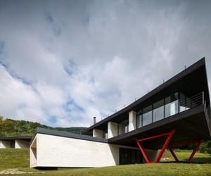Hotel Atra Doftana by Tecon Architects