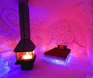 'Hotel de Glace' Ice Hotel in Quebec City, Canada