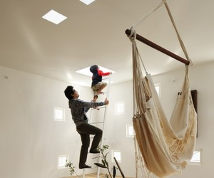 Home Designed for Deaf and Hearing Family in Japan