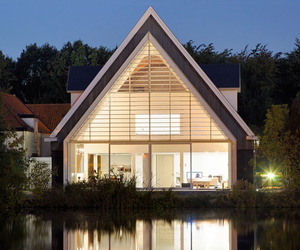 House In A Church by Ruud Visser Architects