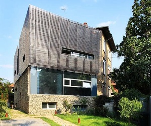 House in Bucharest, Romania by Re-Act Now Studio