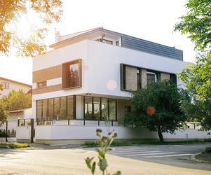 A Modern House in Bucharest, Romania