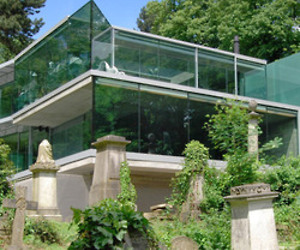House in Highgate Cemetery by Eldridge Smerin