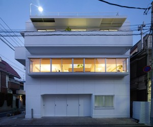House in Megurohoncho by Torafu Architects.