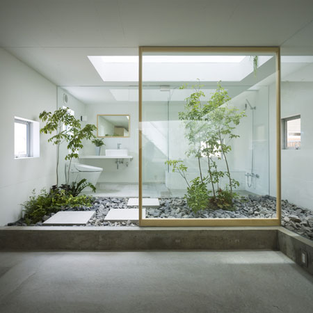 House in nagoya by suppose design office for Arredo casa minimalista