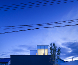House in Sakai by NRM Architects.