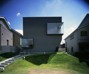 House in Suita by Horibe Naoko Architect Office.