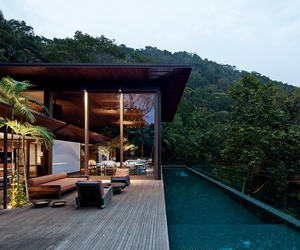 House In The Brazilian Forest