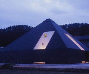 House In Toyama (Black Pyramid)