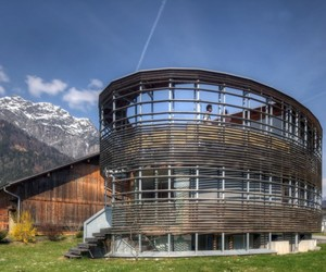 House in Vandans, Austria by Kleboth Lindinger Partners