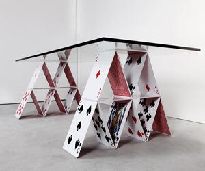 House of Card Table Designed by Mauricio Arruda