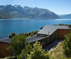 House on Lake Wakatipu by Kerr>>Ritchie