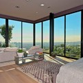 Sunset Strip House with Views of LA by Zoltan Pali