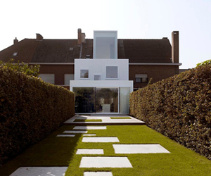 House S in Mechelen by dmvA Architecten