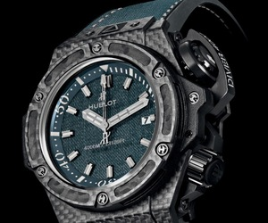 Hublot King Power Oceanographic 4000 Jeans Dive Watch