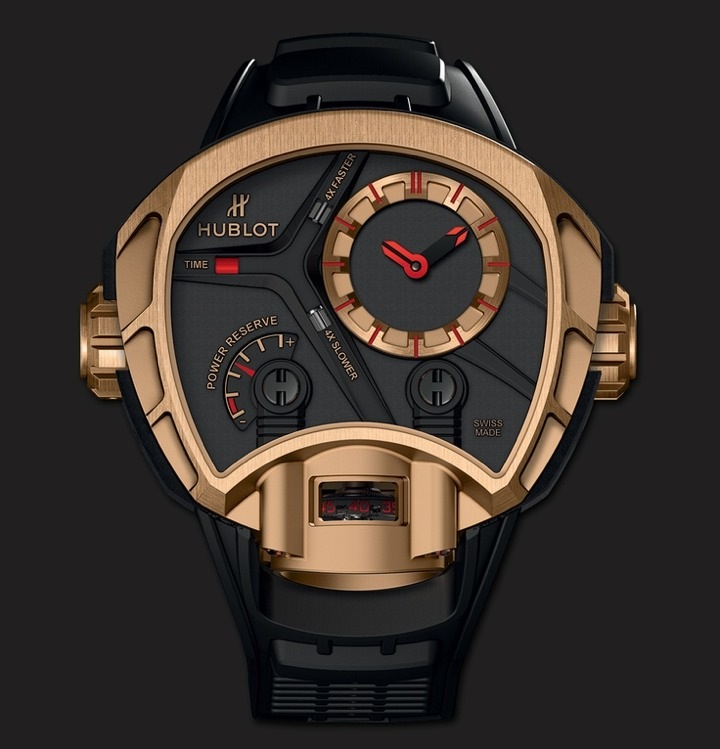 Hublot MP-02 Key of Time King Gold Watch