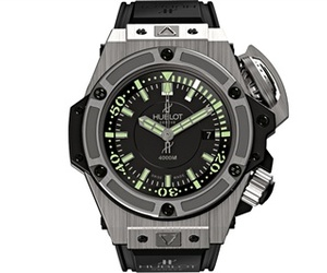 Hublot's Diving Champ