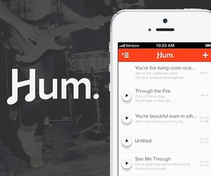 Hum. Songwriting for iPhone