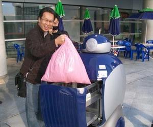 Humanoid Robot 'DustCart' The Garbage Dump