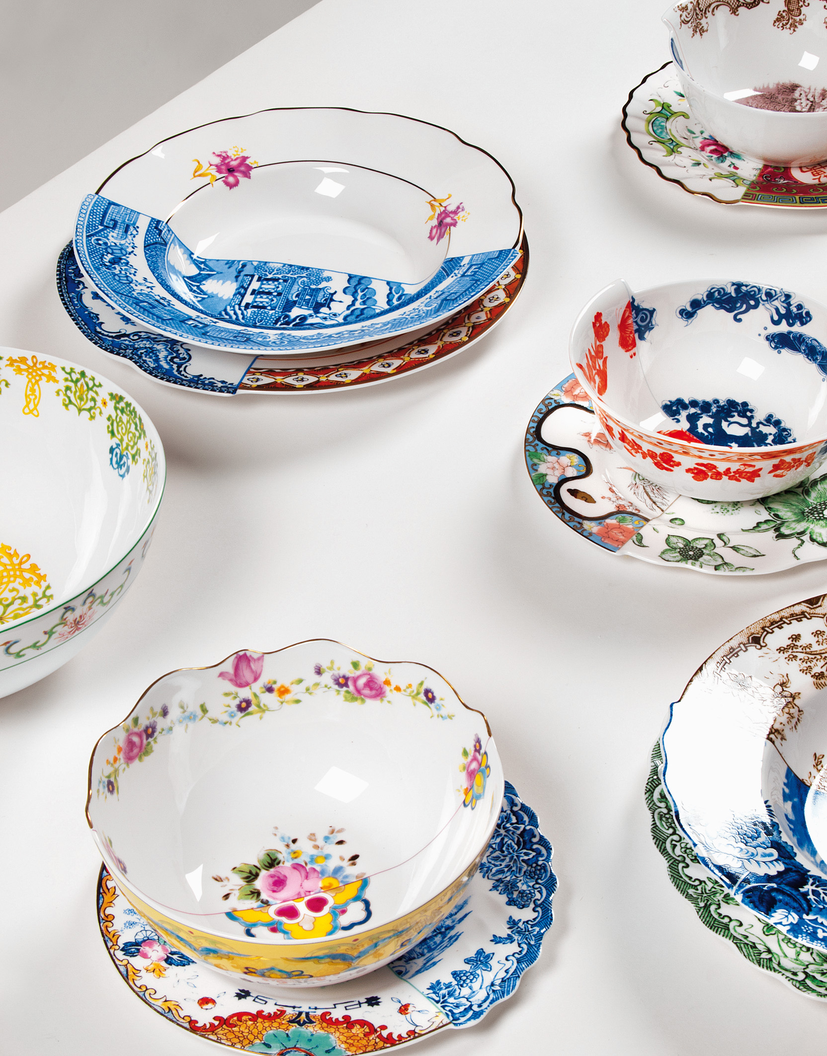 \ HYBRID\  Handcrafted Dinnerware by CTRLZAK for SELETTI  sc 1 st  Materialicious & HYBRID\