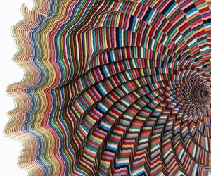 Hypnotic Paper Sculptures by Jen Stark