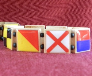 I LOVE YOU Signal Flag Bracelet