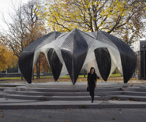 ICD/ITKE – Robotically Fabricated Pavilion