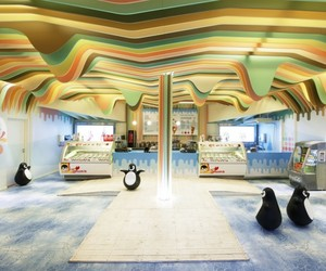 Ice Cream Castle in Akershus | Scenario Interior Architects