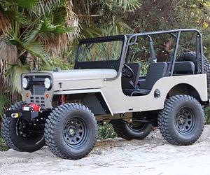 Icon CJ3B 4X4 Jeep