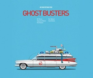Iconic Cars From Films by Jesús Prudencio