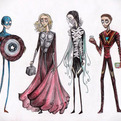 If Tim Burton Drew The Avengers