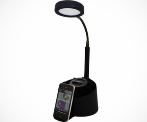 iHome Speaker/LED Desk Lamp & Organizer