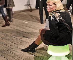 Illuminating chair!