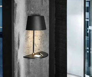 Illusion Half Lamp By Hareide Design