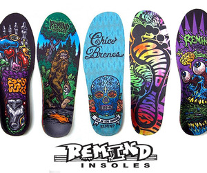 Illustrated Insoles from Remind.