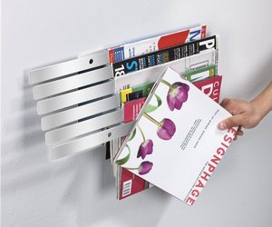 Illuzine Wall-Mount Magazine Rack