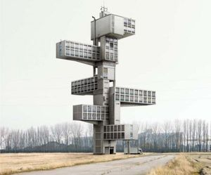 Imaginary Architecture by Filip Dujardin