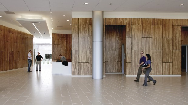 New Kone Center Incorporates Bamboo Wall Panels