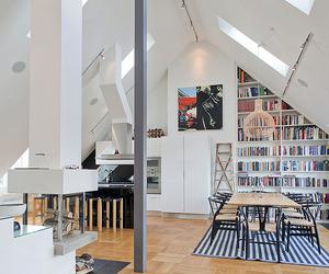 Impressive Attic Penthouse in Östermalm, Stockholm