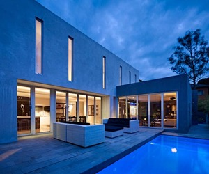 Impressive contemporary residence in Melbourne