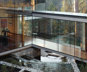 Impressive house surrounded by forest in Chile